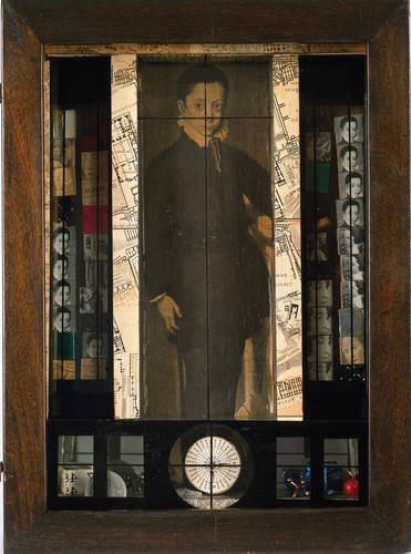 Medici Slot-Machine: Object, 1942Joseph Cornell (American, 1903-1972)